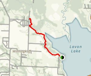 Lavon Lake Via Trinity Trail Map
