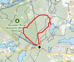 Petapawg, Towhee, Harry's and Tri-Town Loop Map