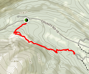 Limber Grove Trail Map