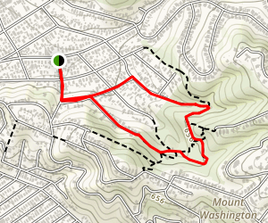Elyria Canyon Trail Map