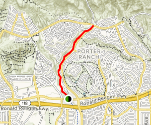 Porter Ranch Trails Map