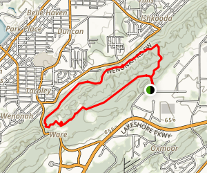 Red Mountain Park Map