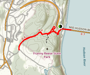 Franny Reese State Park Map