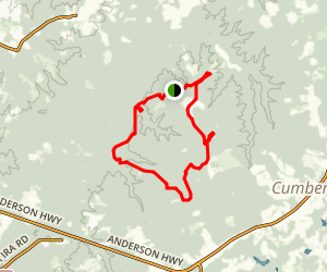 Cumberland State Forest Multiuse Trail Map