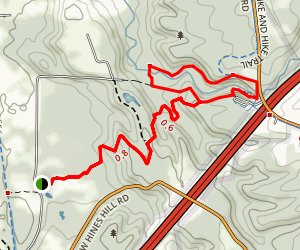 Stanford House to Brandywine Falls Trail Map