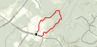 Fuller Farm Trails Map