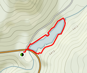 Lake Fulmor  Map