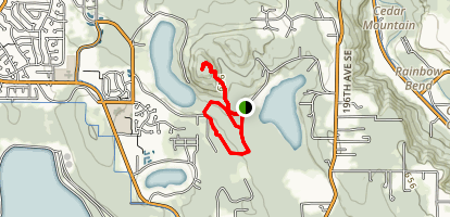 Echo Mountain/Cedar Mountain Trail Map