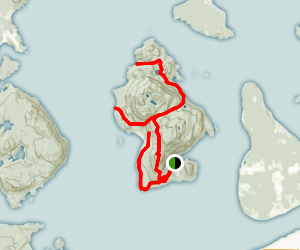 The Trails of Cypress Island Map