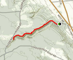 Whetstone Gulf Trail Map