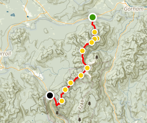 Presidential Traverse Trail Map