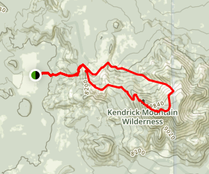 Pumpkin Trail to Bulls Basin Trail Loop Map