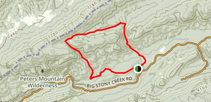 Huckleberry Loop Trail Map