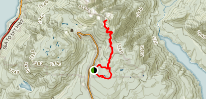 Hollyburn Ridge Double Loop Map