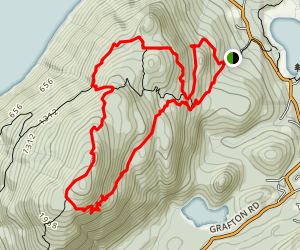 Mount Gardner Loop Trail Map