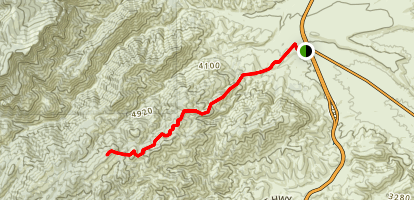 Gold Ridge Trail Map