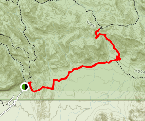 Miners Summit Trail Map