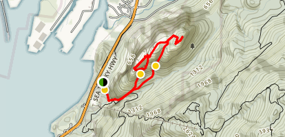 Stawamus Chief Trail Map