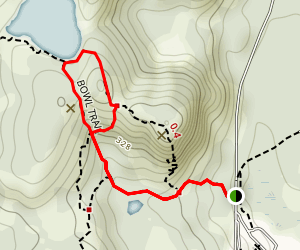 The Bowl Trail Map
