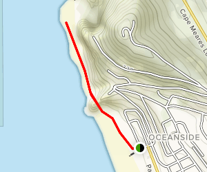 Oceanside Beach Trail Map