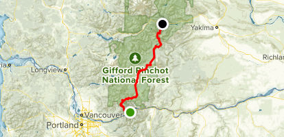 PCT: WA Section H - Cascade Locks to Highway 12 (White Pass ...
