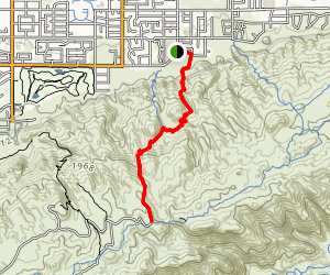 Geronimo Trail Map
