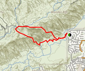 Old Man Trail Map