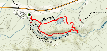 Boyce Thompson Arboretum Main Trail  Map