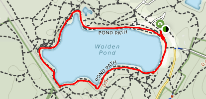 Walden Pond State Reservation Map