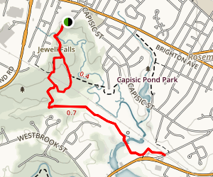 Fore River Sanctuary Trail Map