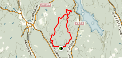 Devil's Den Preserve Trail Map