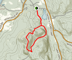 Mount Toby Trail Map