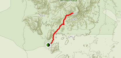 Table Top Mountain Trail Map