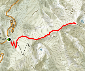 Mount Flora Trail Map