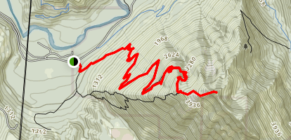 Mailbox Peak Trail Map