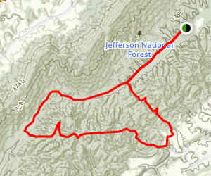 Channel Rock Trail Loop Map