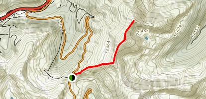 Sniktau Mountain Trail Map
