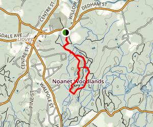Noanet Woodlands Reservation Map