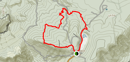 Mountain Lake Trails Loop Map