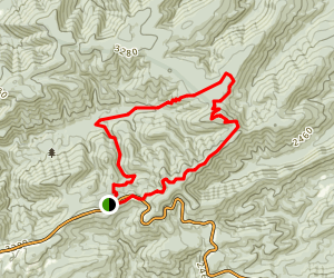 St. Mary's Wilderness Loop Trail Map