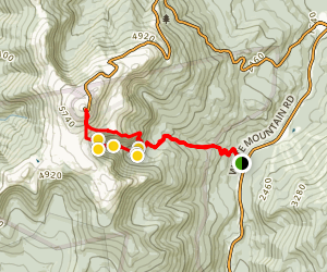 Tuckerman Ravine Trail to Mount Washington Map