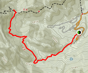 Upper Bristlecone Trail Map