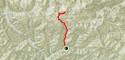 Navaho Peak Map