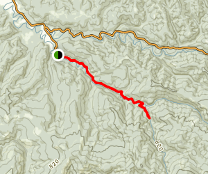 Elk River Trail Map