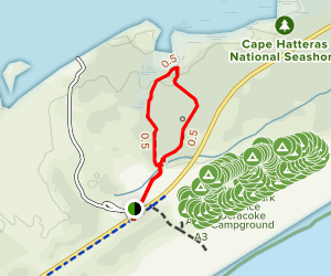 Hammock Hills Nature Trail Map
