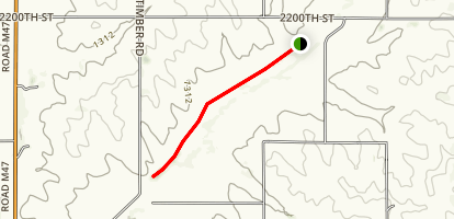 Upper Nish Habitat Trail Map