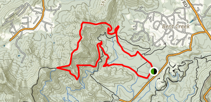 Bent Creek Network: Ingles Field Gap Loop Trail Map