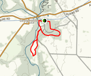 Terrace to Ancient Trail Loop Map