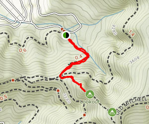 Lookout Trail Map