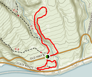 Catherine Creek Trail Map